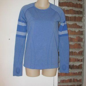 Ivivva Tech Pullover Sweater Blue Size 14
